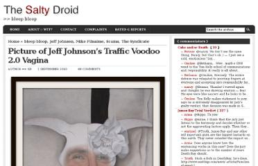 http://saltydroid.info/a-picture-of-jeff-johnsons-traffic-voodoo-vagina/