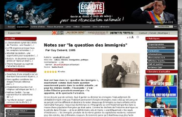 http://www.egaliteetreconciliation.fr/Notes-sur-la-question-des-immigres-17603.html