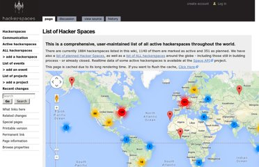 http://hackerspaces.org/wiki/List_of_Hacker_Spaces