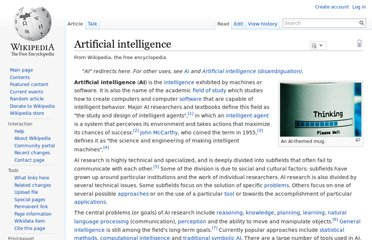 http://en.wikipedia.org/wiki/Artificial_intelligence