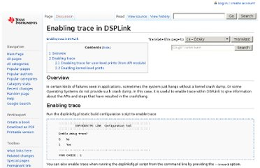 http://processors.wiki.ti.com/index.php/Enabling_trace_in_DSPLink