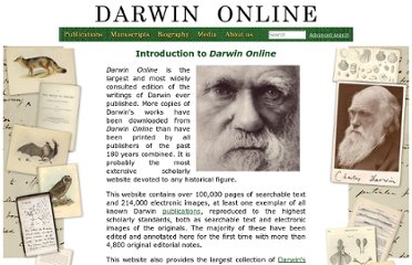 http://darwin-online.org.uk/Introduction.html