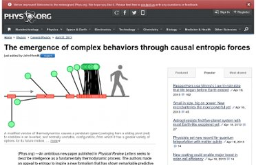 http://phys.org/news/2013-04-emergence-complex-behaviors-causal-entropic.html