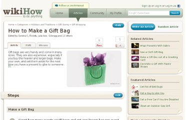 http://www.wikihow.com/Make-a-Gift-Bag