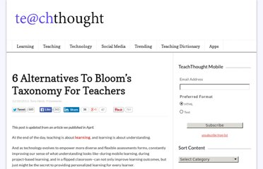 http://www.teachthought.com/learning/5-alternatives-to-blooms-taxonomy/