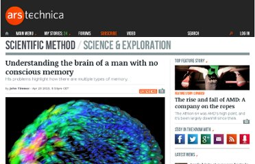 http://arstechnica.com/science/2013/04/understanding-the-brain-of-a-man-with-no-conscious-memory/