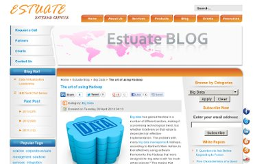 http://www.estuate.com/estuate-blog/115-big-data/372-the-art-of-using-hadoop