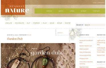 http://dearestnature.com/blog/2012/08/garden-dub/