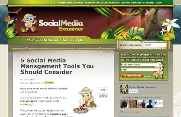 http://www.socialmediaexaminer.com/5-social-media-management-tools-you-should-consider/