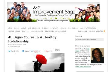 http://blog.self-improvement-saga.com/2010/08/40-signs-youre-in-a-healthy-relationship/