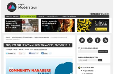http://www.blogdumoderateur.com/enquete-community-managers-2013/