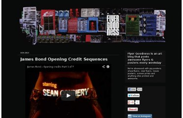 http://flyergoodness.blogspot.com/2010/09/james-bond-opening-credit-sequences.html
