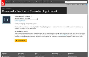 http://www.adobe.com/cfusion/tdrc/thankyou_2.0.cfm?product=photoshop_lightroom&loc=en_us