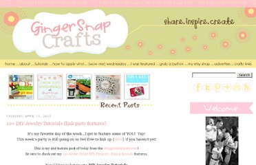 http://www.gingersnapcrafts.com/2013/04/10-diy-jewelry-tutorials-link-party.html