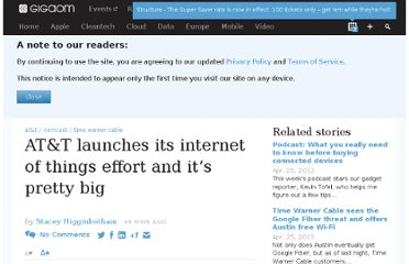 http://gigaom.com/2013/04/25/att-launches-its-internet-of-things-effort-and-its-pretty-big/