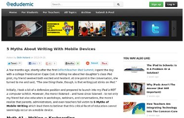 http://edudemic.com/2013/04/5-myths-about-writing-with-mobile-devices/