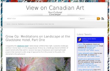http://viewoncanadianart.com/2013/04/25/grow-op-meditations-on-landscape-at-the-gladstone-hotel-part-one/