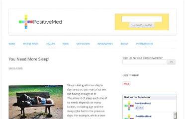 http://positivemed.com/2012/09/06/you-need-more-sleep/