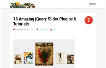http://www.modny73.com/tutorials/10-amazing-jquery-slider-plugins-tutorials/