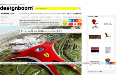 http://www.designboom.com/weblog/cat/9/view/10214/ferrari-world-abu-dhabi-opens-october-2010.html