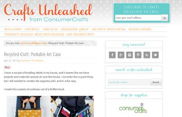 http://www.craftsunleashed.com/craft-basics-main/art-crafts/recycled-craft-art-case/