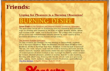 http://what-buddha-said.net/drops/II/The_Fire_of_Sense-Desire.htm