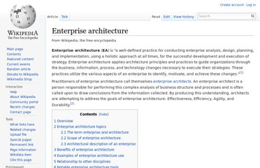 http://en.wikipedia.org/wiki/Enterprise_architecture