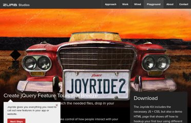 http://zurb.com/playground/jquery-joyride-feature-tour-plugin