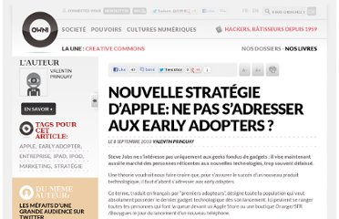 http://owni.fr/2010/09/08/nouvelle-strategie-d%e2%80%99apple-ne-pas-s%e2%80%99adresser-aux-early-adopters/