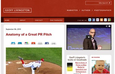 http://geofflivingston.com/2010/09/09/anatomy-of-a-great-pr-pitch/
