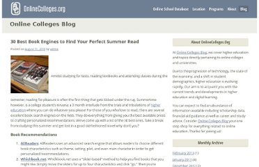 http://www.onlinecolleges.org/30-best-book-engines-to-find-your-perfect-summer-read/