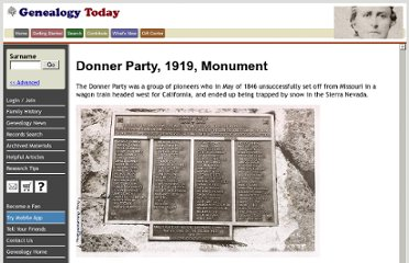 http://wiki.genealogytoday.com/Donner_Party_1919_Monument.html