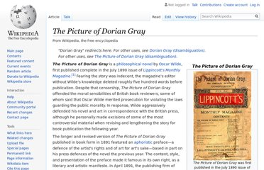 http://en.wikipedia.org/wiki/The_Picture_of_Dorian_Gray