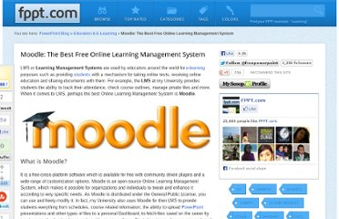 http://www.free-power-point-templates.com/articles/moodle-the-best-free-online-learning-management-system/