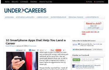 http://under30careers.com/10-smartphone-apps-that-help-you-land-a-career/