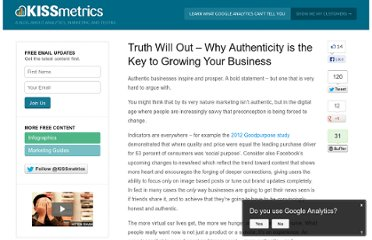 http://blog.kissmetrics.com/truth-will-out/
