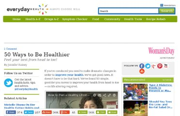 http://www.everydayhealth.com/diet-nutrition/101/benefits-of-healthy-eating/50-ways-to-be-healthier.aspx