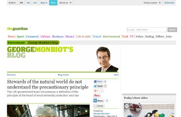 http://www.guardian.co.uk/environment/georgemonbiot/2013/may/01/protect-natural-world-understand-precautionary-principle