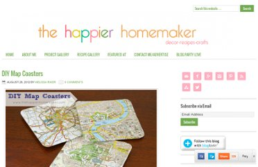 http://www.thehappierhomemaker.com/2012/08/diy-map-coasters.html