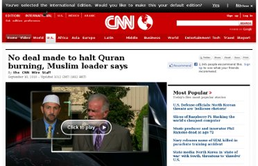 http://www.cnn.com/2010/US/09/10/florida.quran.burning/?hpt=T2