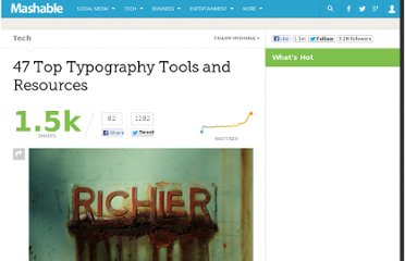 http://mashable.com/2013/05/02/typography-tools-resources/