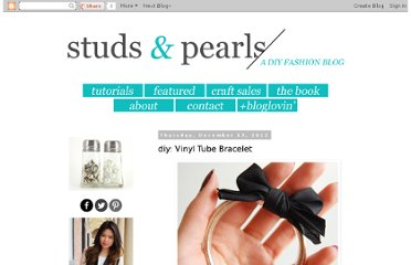 http://www.studs-and-pearls.com/2012/12/diy-vinyl-tube-bracelet.html