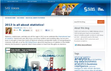 http://blogs.sas.com/content/sascom/2013/05/01/2013-is-all-about-statistics/