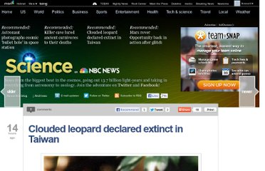 http://science.nbcnews.com/_news/2013/05/01/18005967-clouded-leopard-declared-extinct-in-taiwan?lite