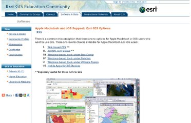 http://edcommunity.esri.com/software/mac/