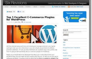 http://sixrevisions.com/wordpress/top-5-excellent-e-commerce-plugins-for-wordpress/