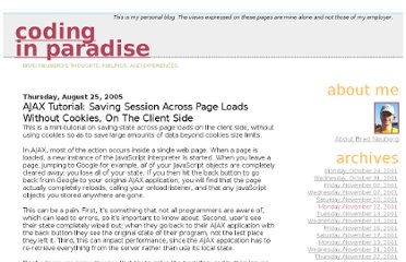 http://codinginparadise.org/weblog/2005/08/ajax-tutorial-saving-session-across.html