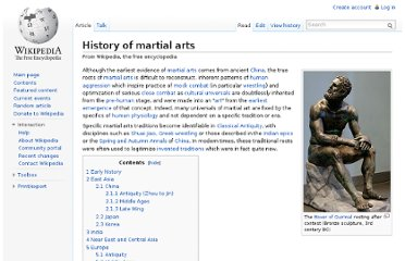 http://en.wikipedia.org/wiki/History_of_martial_arts
