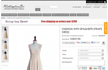 http://www.weddingdressbee.net/fashion-with-spaghetti-straps-dress.html