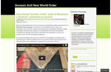 http://gonzaloantinwo.wordpress.com/2010/06/12/documental-invisibly-visible-masoneria-illuminati-espanol/